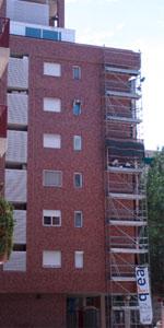 Reparación de Lesiones en Edificio de Viviendas. C/ Oceanía. Zaragoza.